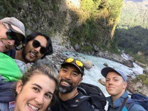 Aleisha and crew at Mt Kilimanjaro