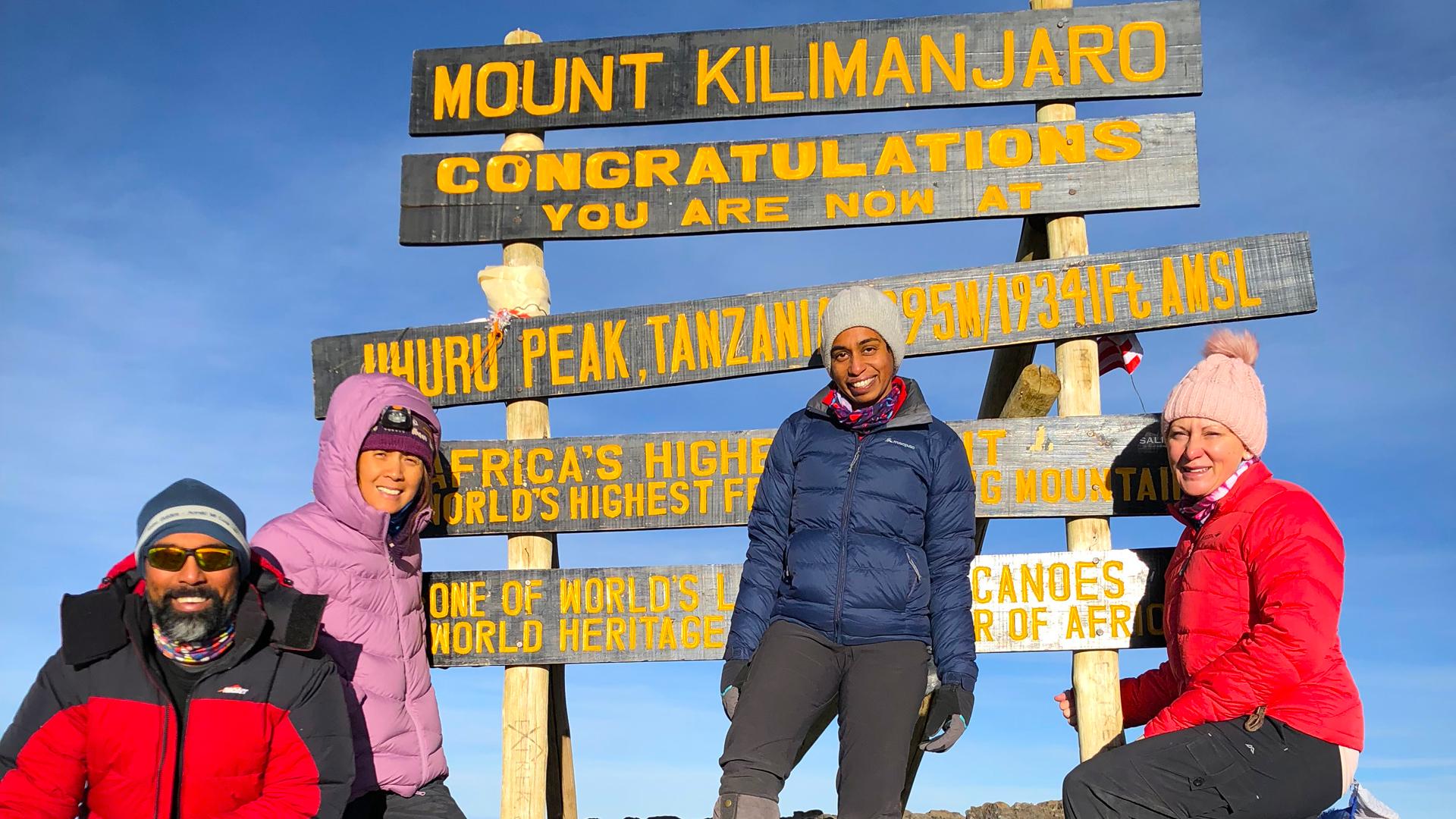 Uhuru Peak - 5,895m