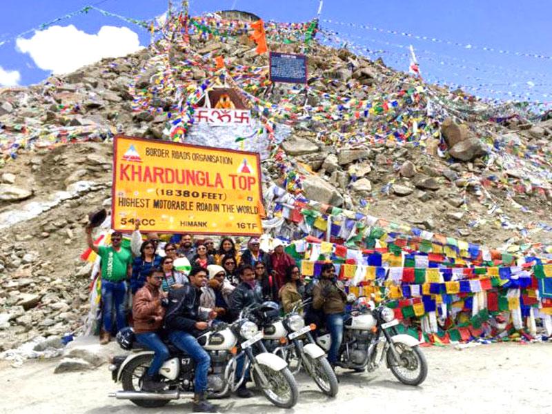 Khardung La Top - 5,359 m